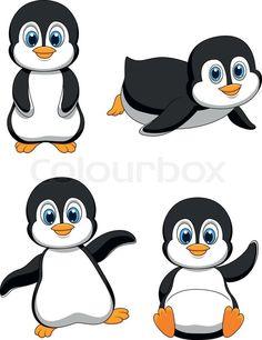 cute penguin clip art use these free images for your websites art rh pinterest com clip art penguin outline clipart penguins free
