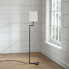 Clare Antiqued Bronze Floor Lamp