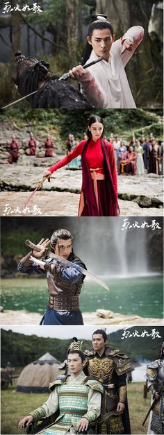 The Flame's Daughter 《烈火如歌》 2018 - Vic Zhou, Dilraba Dilmurat, Zhang Bin Bin, Liu Rui Lin