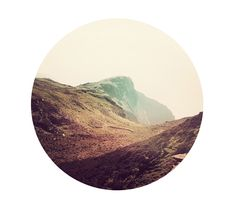 Marco Suarez makes landscape photography cropped in a circle. You can buy them for $60.