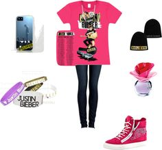 """""""Justin Bieber Believe Concert outfit"""" by blazina on Polyvore"""