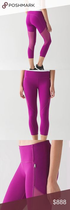 """Lululemon Rush Hour 21"""" Crop NWT/10 DFUS Lululemon Rush Hour 21"""" Crop NWT/10 DFUS ✅ALWAYS OPEN TO OFFERS-unless marked firm on price ✅OFFERS SHOULD BE MADE THROUGH POSH OFFER FEATURE ✅PRICES NOT DISCUSSED IN COMMENTS  ✅FEEL FREE TO ASK ANY QUESTIONS  ❎NO TRADES lululemon athletica Pants Ankle & Cropped"""