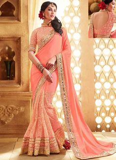 New collection of party wear sarees available at Mehta Saree Centre.
