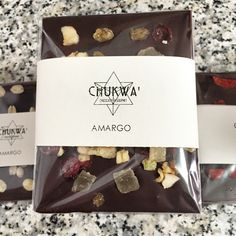 Barra de Chocolate Amargo con Variedad de Frutos Secos