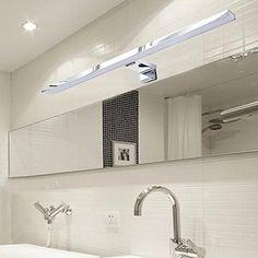 Wandeinbau Lampe Aluminium Verre Gris ip44 DEL tout simplement