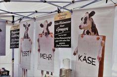 """""""Esst mehr Käse"""" lautet das Motto von Käsemeister Halbach"""