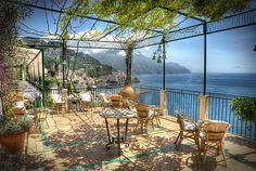 Amalfi Coast Terrace...ahhhh home