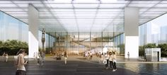 Light-filled Shenzhen Art Museum and Library protects against solar heat gain