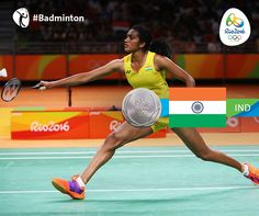 Rio 2016 ‏@Rio2016_en  2h2 hours ago Rio de Janeiro, Brazil  Bravo to @Pvsindhu1 #IND for earning her country's second medal of #Rio2016! #Silver in #Badminton