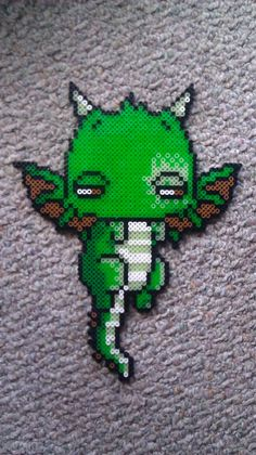 Dragon Baby perler beads by GwenniStars