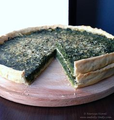 Spinach and pecorino tart. is on sale now for - 25 % ! Spanakopita, Spinach, Ethnic Recipes, Desserts, Pie, Tailgate Desserts, Deserts, Postres, Dessert