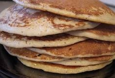 Protein Pancakes that taste delicious and are actually good for you! 3/4 Cup Oatmeal 1/4 Cup Forza Pro Protein Vanilla 1-2 Stevia packets (i...