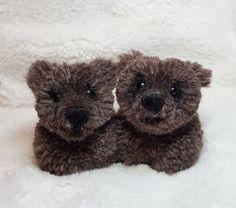 Pompom bears POMPOMFAIRYART