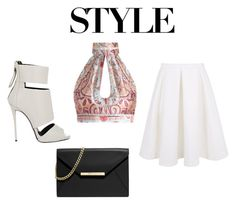 """""""The T Collection #30"""" by lauriextaylor on Polyvore featuring Zimmermann, Keepsake the Label, Giuseppe Zanotti and MICHAEL Michael Kors"""