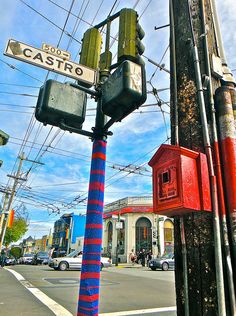 How To Keep Your Pole Warm In The Castro – SFW Yarn Bomb!