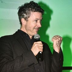 """Aidan Gillen introducing Sing Street to film students in Dublin last month.  ~ ~ ~…"""""""