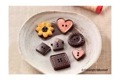 Choco Buttons Chocolate Mould - Chocolate moulds - Silicone moulds - Accessories Tools & Moulds