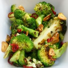 How To Make Chargrilled Broccoli with Chili and Garlic
