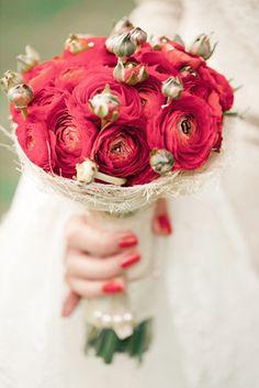 Valentine Wedding Bouquet
