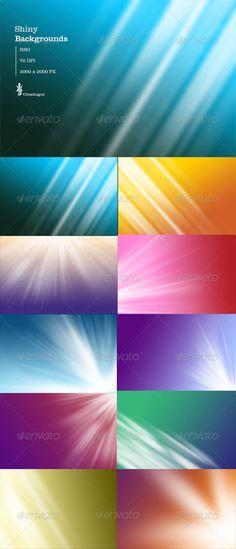 10 Shiny Background