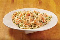 Chef Royale: Spaghetti aux crevettes et beurre à l'ail Tiramisu Caramel, Pasta, Ethnic Recipes, Food, Drinks, Cooker Recipes, Garlic Butter, Shrimp Spaghetti, Drinking