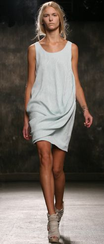 Love this dress. So understated and chic. Just put it on and go out the door looking fabulous. Biddy Craft