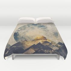 One mountain at a time Duvet Cover by HappyMelvin | Society6