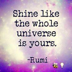 Rumi quote lightworker