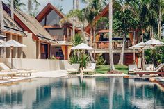 love the design of this villa - great for children and right on the beach  #kohsamui #samui #thailand #asianluxuryvillas