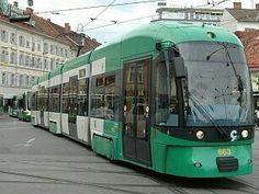 Graz tram Cantilever Bridge, Train Light, Graz Austria, Rail Europe, Light Rail, Locomotive, The Good Place, Transportation, Around The Worlds