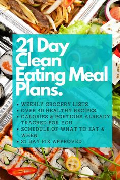 Simplifying clean eating for beginners, all the planning is already done for you! Delicious meals that are all family friendly.