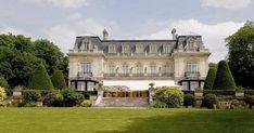 Les Crayères, Reims.  Relais et Chateaux.  Hôtel de luxe et table étoilée.