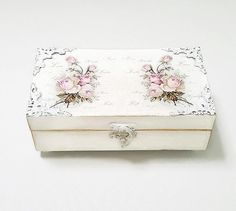 Mother In Law Gift Wooden Jewellery Box By Chiclaceandpearls Gifts Birthday