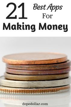 Looking for good apps to make money with? Check out these 21 money making apps…
