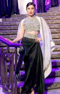 Kareena Kapoor at the Lakme Fashion Week 2015.