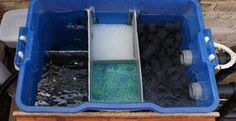 Keeping the water crystal clear in an outdoor fish pond or water garden can be challenging.