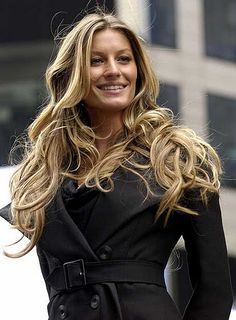 Gisele Bundchen has awesome hair
