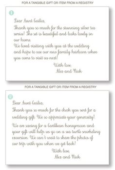how to write wedding thank you notes for wedding gifts dont forget this