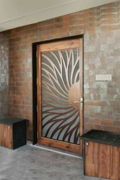 Ideas For Glass Door Design Mandir House Design, Wood Doors, Modern Wooden Doors, Entrance Doors, Doors Interior, Wood Doors Interior, Door Glass Design, Modern Wood Doors, Front Door Design