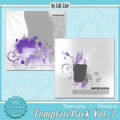 Scrapbooking TammyTags -- TT - Designer - Digiscrap by Jak-Line, TT- Item - Template
