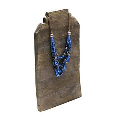Reclaimed Wood Stepped Easel Necklace Display Necklace Display, Earring Display, Jewellery Display, Fabric Display, Wood Steps, Rio Grande Jewelry, Bold Jewelry, Earring Cards, Wood Necklace