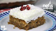 Kıbrıs Tatlısı Tarifi Videosu Wine Recipes, Cooking Recipes, Turkish Recipes, Tray Bakes, Sweet Treats, Bakery, Food And Drink, Favorite Recipes, Yummy Food