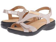 Revere - Santa Monica (Champagne) Women's Flat Shoes