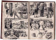 desenhador do quotidiano: Manuel João Ramos. Viagem a Nova Iorque (com passagem pela Índia)