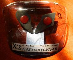 Set NAD NAD-KVAR El Nido Del CUCO 'Púa de Guitarra' The Cuckoo's Nest - Guitar Pick
