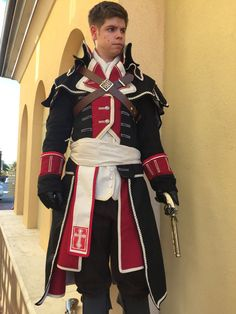 Assassin's Creed: Rogue Shay Cormac Cosplay by SolaireEnterprises