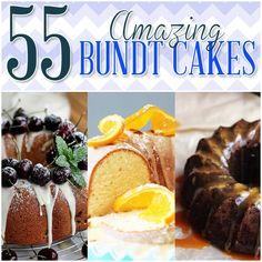 55AmazingBundtCakes -http://www.thecottagemarket.com/2013/12/55-amazing-bundt-cakes.html