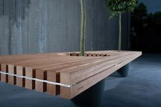 Romeo & Juliet Bench by Vyvey & Partners