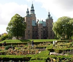 Rosenborg Castle, Copenhagen, where we saw the Crown Jewels of Denmark 2012