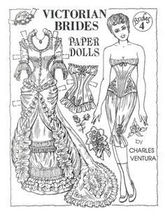 Victorian Brides by Charles Ventura  Seems to be many outfits for this one. Will check the site.